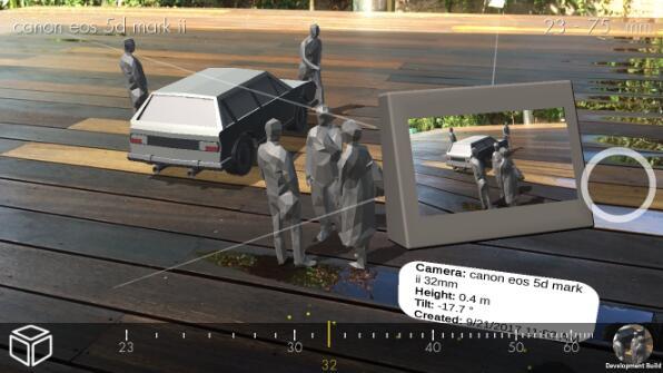 """电影制作人的""""模拟战术板"""",AR应用Blocker帮助你布置3D舞台"""