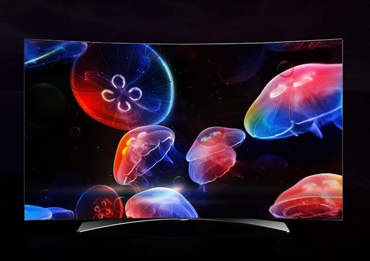 超薄曲面OLED高端电视 长虹Q3A演绎全新画质体验