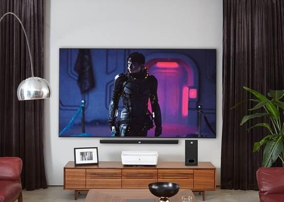 """明基激光超投电视,给家居生活""""一平米""""奢华享受"""