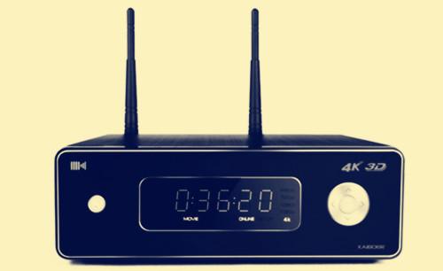 揭晓4K蓝光播放器开博尔K9外观