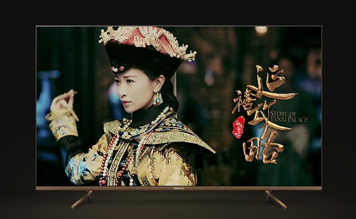 来苏宁预约酷开护眼新品,业内首款榫卯底座电视