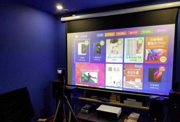 米家150寸激光电视今日开卖,价格仅售9999元!
