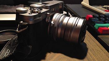 FUJIFILM 富士 X100 的原生搭档:WCL-100 广角镜转换镜