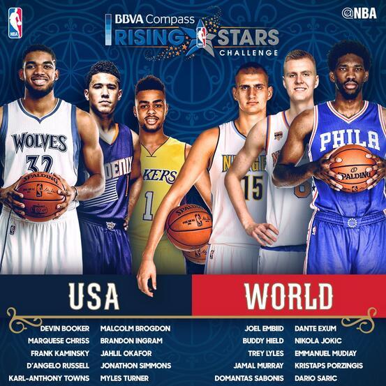 2017年NBA全明星新秀赛,智能电视看全场高清直播攻略