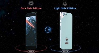 又玩情怀 软银携手夏普推出《星战》主题手机