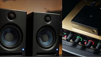 索尼 SONY BM10蓝牙及PreSonus Eris E5监听音箱