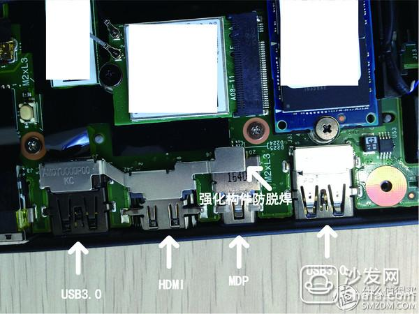 个人猜想由于超薄设计电路板的强度并不能支撑反复的接口插拔,所以