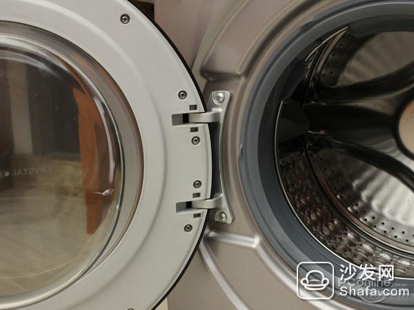 给你更健康的洗衣体验 tcl免污式滚筒洗衣机评测