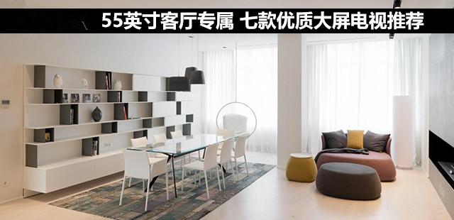 55英寸客厅专属 七款优质大屏电视推荐
