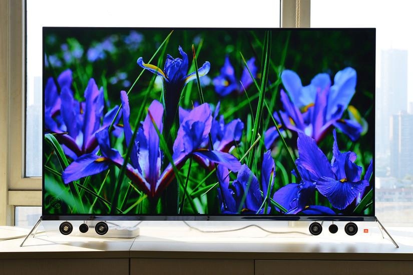 四色4k+oled有机屏:创维55s9300电视精美开箱