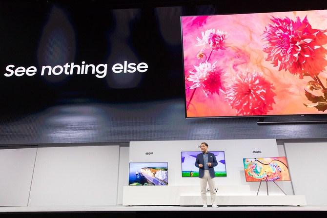 拥抱人工智能 三星发布QLED TV全系列新品