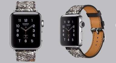 爱马仕又给苹果表设计新表带啦 这次是野性路线