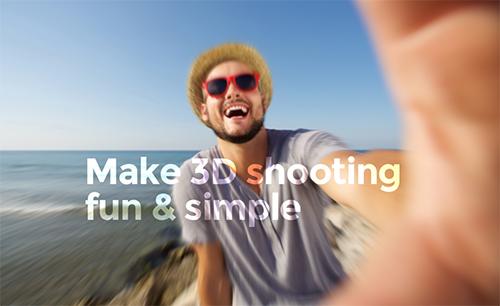 2Sens推出3D摄像头配件 让手机也能拍摄MR视频
