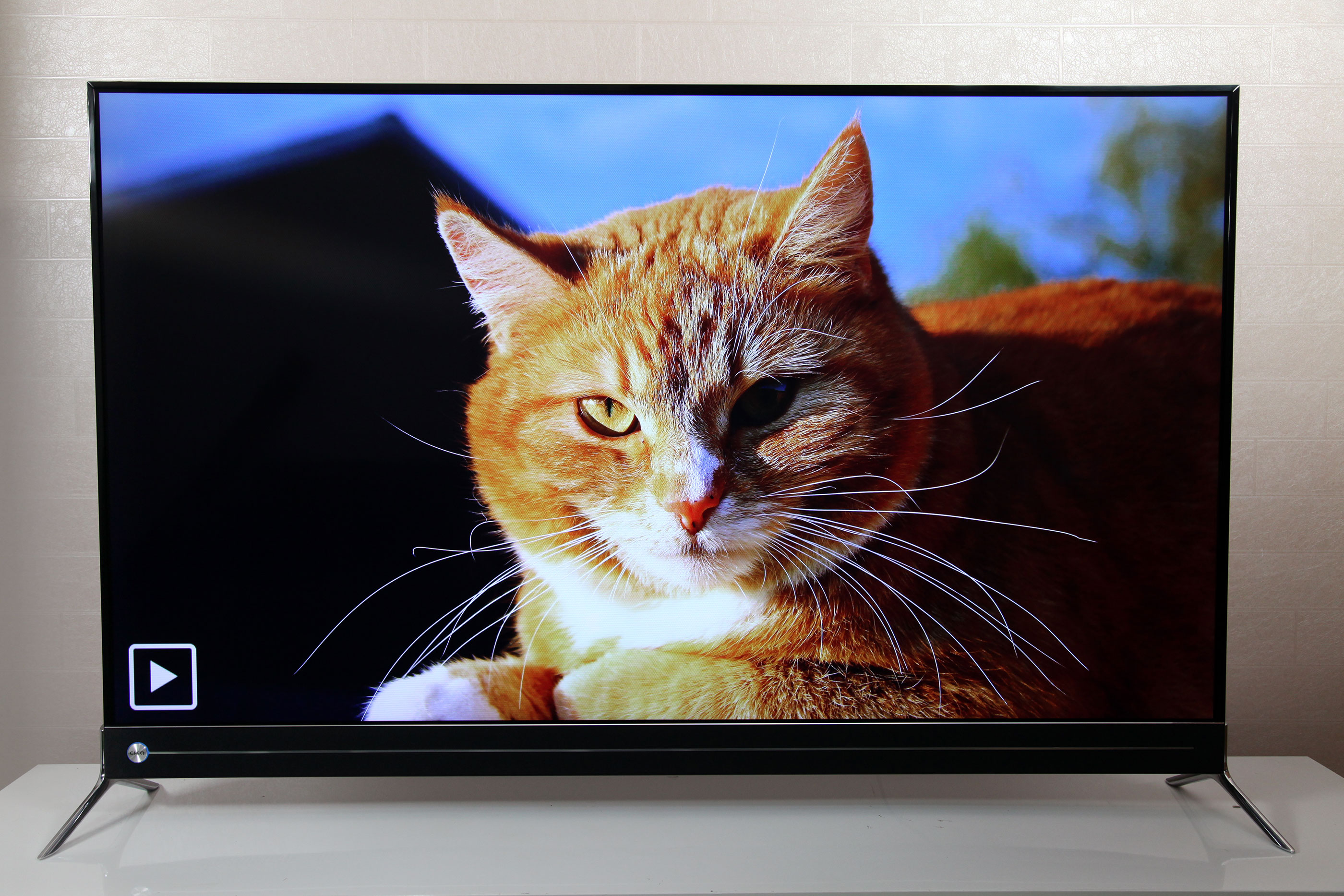 全程HDR+智能三分频 长虹电视Q5K画质音质体验