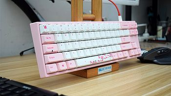 #本站首晒#小樱花居然打动我这颗男生的心 — 阿米洛 MIYA PRO VA87M 机械键盘