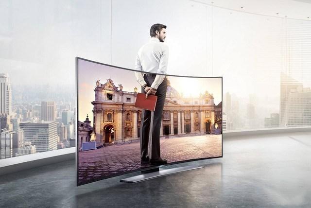 """沉浸式视觉体验!曲面电视将引领未来新""""视""""界"""