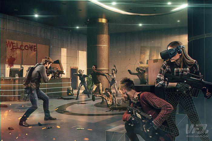 VR一体机结合光学定位 移动VR头显也能搞大空间VR体验 | VR网原创
