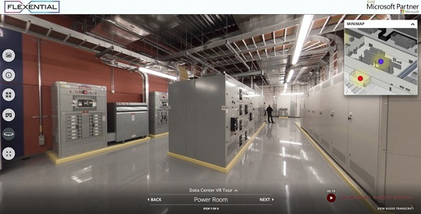 Concept3D和Flexential联手打造VR数据中心旅游体验