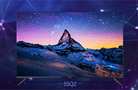 风行电视量子点电视促销 55Q2不到3000元