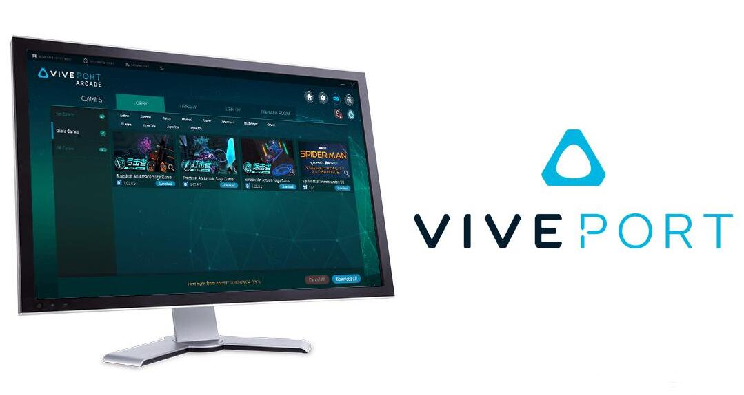 优化VR线下体验店系统,HTC推出Viveport Arcade管理软件