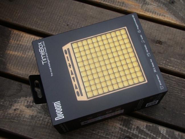 家居生活——Divoom Timebox 木纹蓝牙音箱