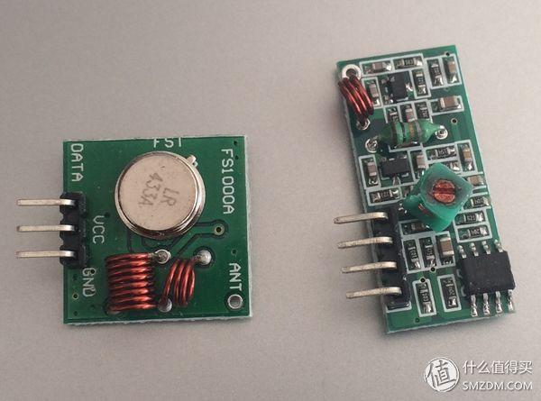 pi 树莓派和siri遥控车库门  ask/ook 315m或433m 无线发射,接收模块