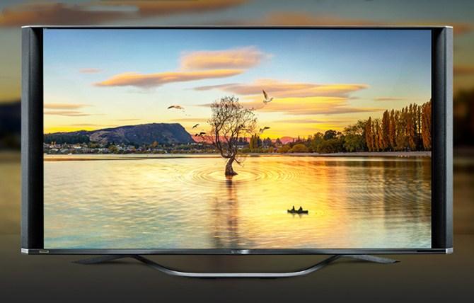 更接近沉浸体验 8K夏普智能电视售价48888元
