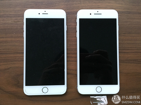 新鲜出炉:apple 苹果 iphone 7plus 银色 开箱