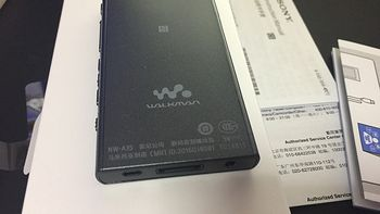 Sony 索尼 NW-A35/BM 播放器 开箱测评