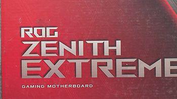 我绝对不为Rog信仰买单!真香—ROG 玩家国度 Zenith Extreme 主板 开箱小测