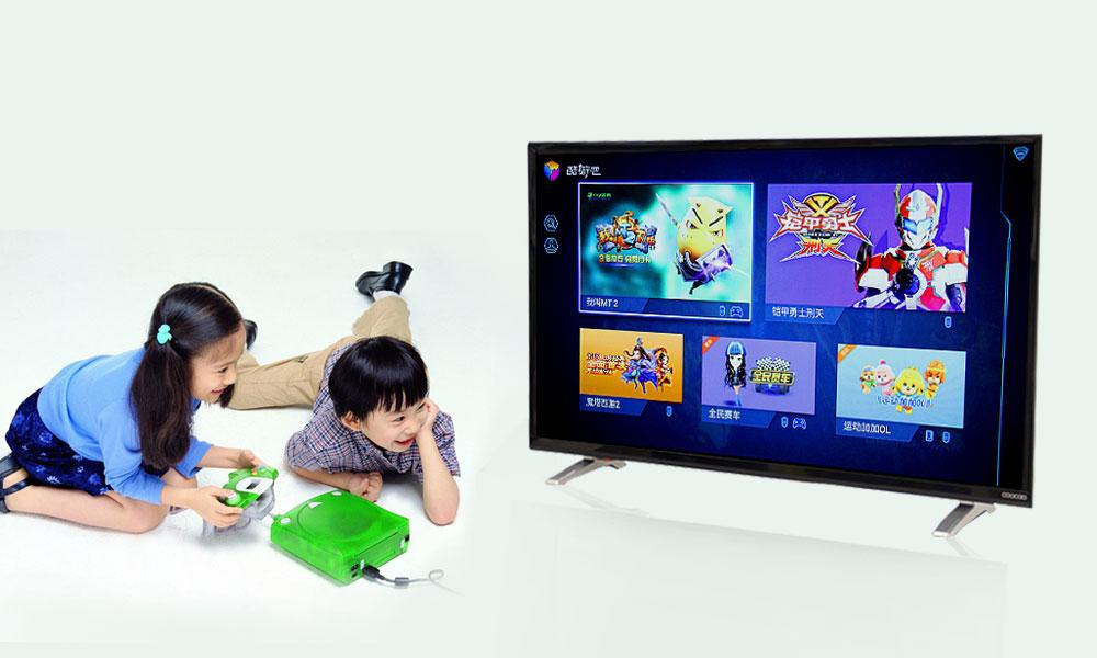 酷开小企鹅K32电视如何安装电视盒子?