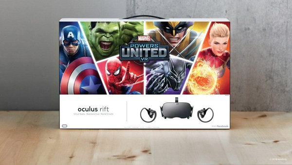 Oculus Rift+《漫威联合力量VR》套装350美元促销中