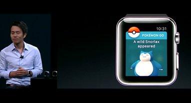 Pokemon Go登陆苹果表 去用手表上抓精灵吧!
