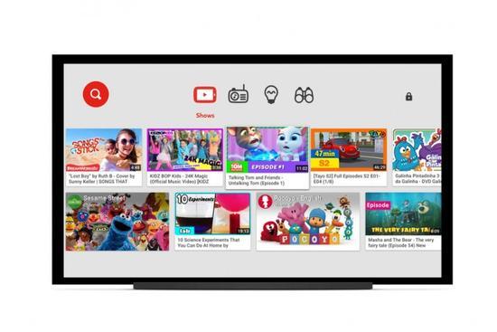 YouTube Kids服务宣布登陆智能电视平台