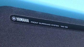 YAMAHA 雅马哈 YAS-106 入门级 Soundbar 开箱及初步使用
