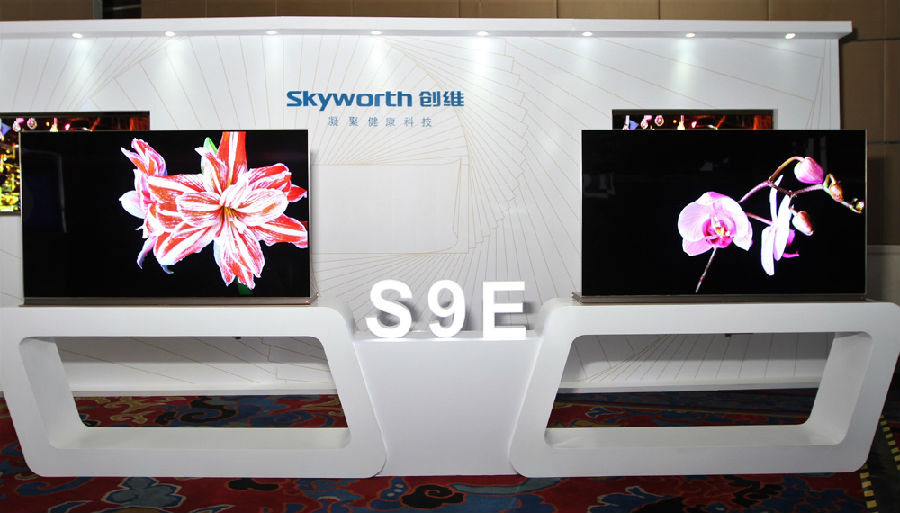创维发布壁纸电视 预售价99999元