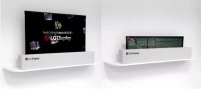 LG将在CES2019展示可卷曲OLED电视和可折叠OLED手机