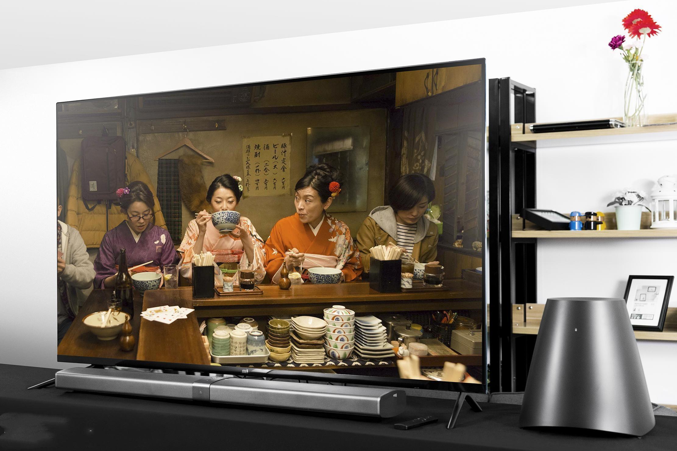 小米电视4开箱体验:史上最美
