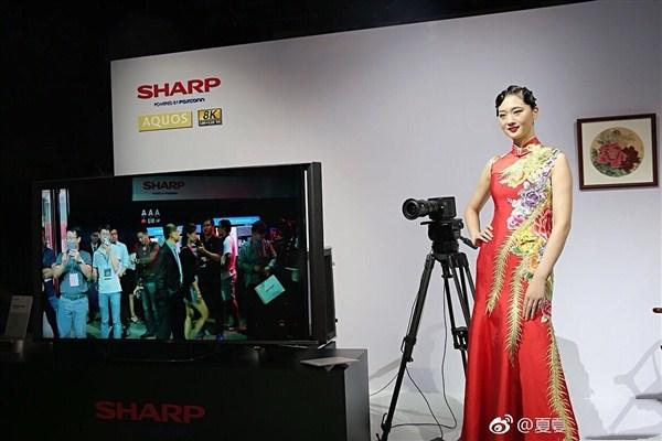 夏普转型求复兴:押宝8K面板 全力生产
