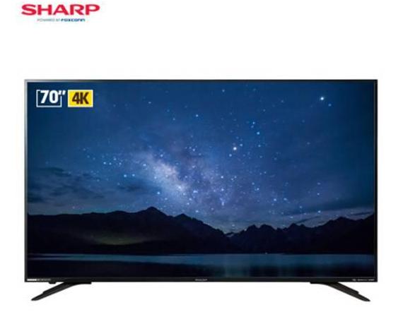 视听再升级!夏普互联网4K超高清大屏电视新品即将在多平台发售