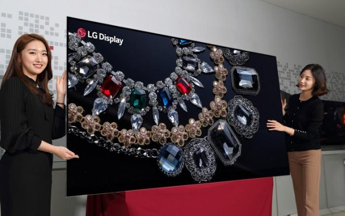 LGD研发出88英寸8K OLED面板 CES将展出