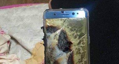 用户新买的Note 7爆炸了 原因可能是这样