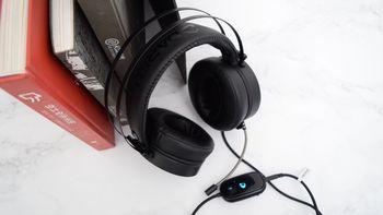除了外观还要有?Dareu 达尔优 EH732 游戏耳机 开箱体验