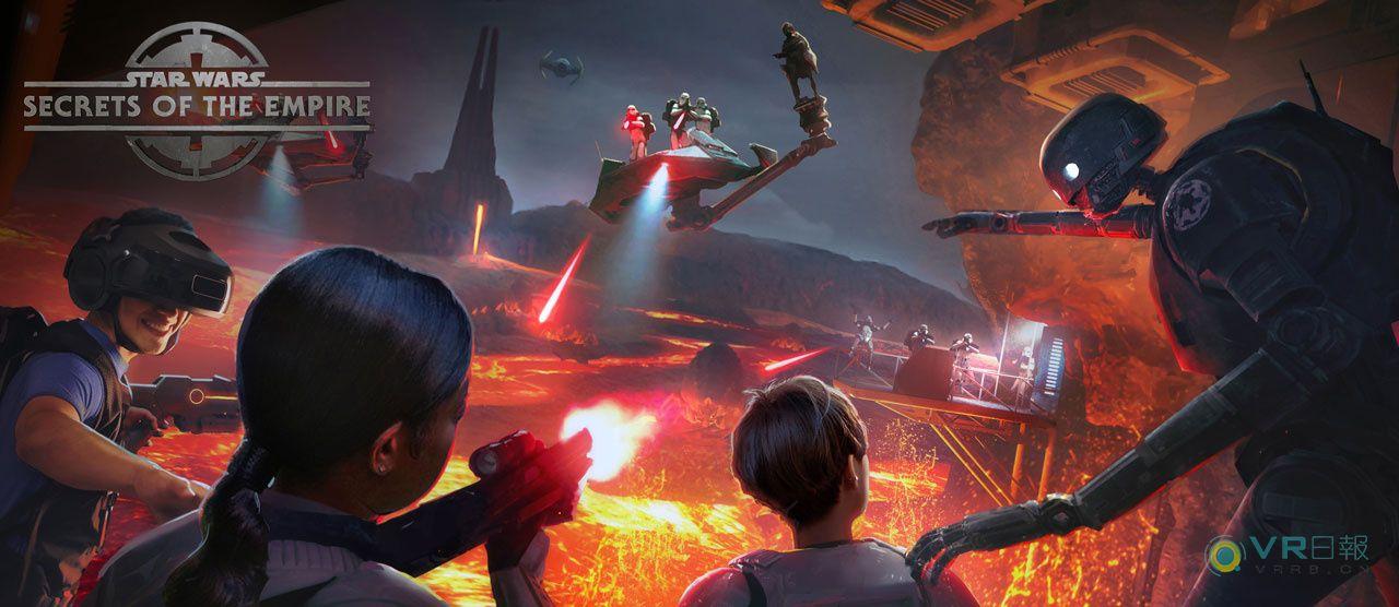 VR体验《星球大战:帝国的秘密》已经开启预售