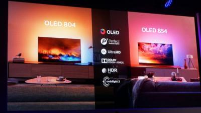 飞利浦新品OLED804/OLED854电视