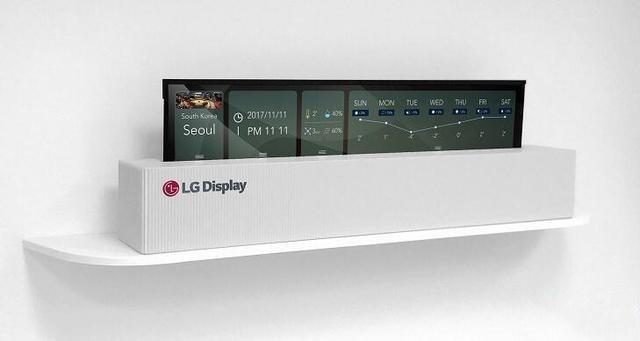 这台65寸4K OLED电视逆天:能卷起来就走