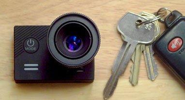看看世界上最小的4K可换镜头运动相机