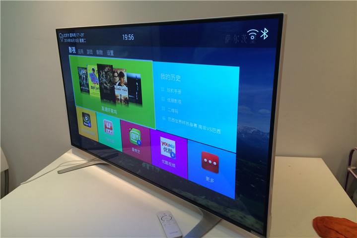 小米电视2代碉堡pk创维酷开4K电视