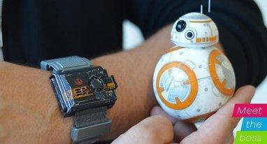扫盲贴:星战BB-8机器人玩具是这样诞生的