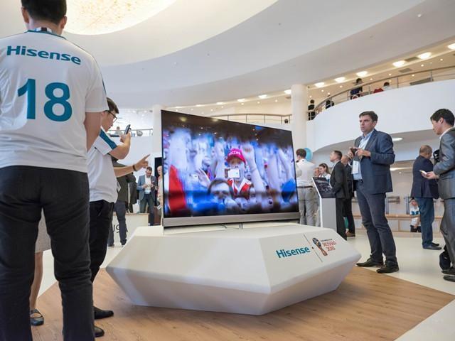 海信发布高端旗舰电视U9D,画质突破世界纪录